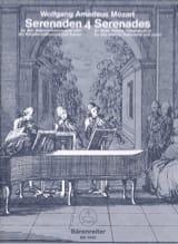 Serenades, Volume 4 Wolfgang Amadeus Mozart Partition laflutedepan.com
