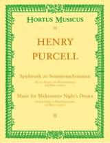 Spielmusik zum Sommernachtstraum. Heft 2 (Nr. 1 - 9) –Partitur - laflutedepan.com
