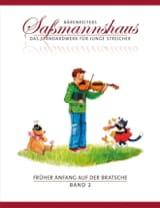 Egon Sassmannshaus - Früher Anfang Auf Der Bratsche Volume 2 - Partition - di-arezzo.fr