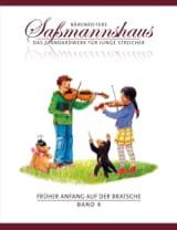 Egon Sassmannshaus - Früher Anfang auf der Bratsche Volume 4 - Partition - di-arezzo.fr