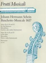 Banchetto musicale 1617 - Fünfstimmige Suite - laflutedepan.com