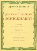 6 Konzerte - Bd. 1 : n° 1-3 – 4 Altblockflöten und BC laflutedepan.com