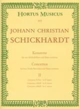 6 Konzerte - Bd. 2 : n° 4-6 - 4 Altblockflöten u. BC laflutedepan.com