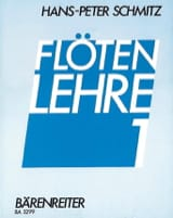 Hans-Peter Schmitz - Flötenlehre – Bd. 1 - Partition - di-arezzo.fr