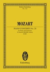 Klavierkonzert Nr. 20 D-Moll Kv 466 – Partitur - laflutedepan.com