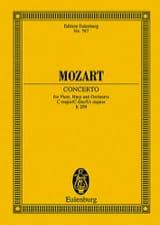 Wolfgang Amadeus Mozart - Konzert für Flöte, Harfe C-Dur KV 299 – Partitur - Partition - di-arezzo.fr