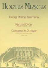 Concerto en ré majeur TWV 40 : 202 - laflutedepan.com