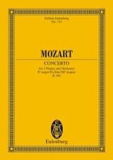 Konzert Nr. 10 für 2 Klaviere Es-Dur KV 365 MOZART laflutedepan.com