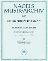 Georg Philipp Telemann - Scherzi melodichi, Bd. 2 – Violine, Viola (Violine) u. Bc - Partition - di-arezzo.fr