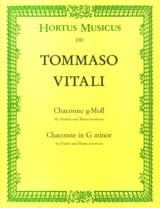 Tommaso Antonio Vitali - Each minor soil - Sheet Music - di-arezzo.co.uk