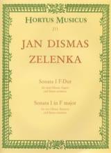 Sonate Nr. 1 F-Dur - 2 Oboen Fagott BC laflutedepan.com