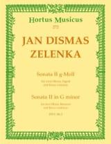 Sonate Nr. 2 g-moll – 2 Oboen Fagott BC - laflutedepan.com