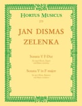 Sonate Nr. 5 F-Dur – 2 Oboen Fagott BC - laflutedepan.com