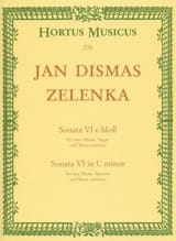 Sonate Nr. 6 En Do Min. Jan Dismas Zelenka Partition laflutedepan.com