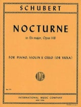 Franz Schubert - Nocturne Eb major, op. 148 (D. 899) - Partition - di-arezzo.fr