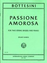 Passione amorosa Giovanni Bottesini Partition Trios - laflutedepan.com