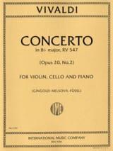 Concerto Bb major RV 547 – Violin cello piano - laflutedepan.com