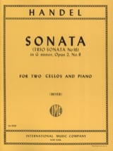 HAENDEL - Sonata G minor op. 2/8 - Sheet Music - di-arezzo.com