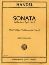 Sonata G minor op. 2 n° 8 –Parts - laflutedepan.com