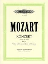 Concerto Violon sol majeur KV 216 Oistrach MOZART laflutedepan.com