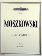 Moritz Moszkowski - Guitarre op. 45 n° 2 - Partition - di-arezzo.fr