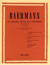 16 Grandi studi da concerto (dall'op. 64) laflutedepan.com