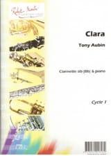 Tony Aubin - Clara - Partition - di-arezzo.fr