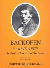 Variationen - Bassetthorn Klavier laflutedepan.com
