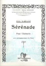 Elsa Barraine - Serenade - Sheet Music - di-arezzo.co.uk