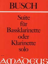 Suite für Bassklarinette solo o. Klarinette - laflutedepan.com