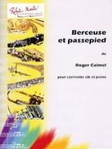 Berceuse et Passepied Roger Calmel Partition laflutedepan.com