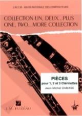 Pièces pour 1, 2 et 3 clarinettes Jean-Michel Damase laflutedepan.com