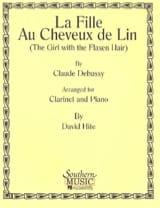 Claude Debussy - la Fille Aux Cheveux de Lin - Partition - di-arezzo.fr