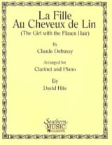 DEBUSSY - la Fille Aux Cheveux de Lin - Partition - di-arezzo.fr