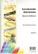 Maurice Faillenot - Iberian Sarabande - Sheet Music - di-arezzo.co.uk