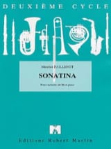 Maurice Faillenot - Sonatina - Sheet Music - di-arezzo.co.uk