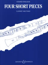 4 Short pieces - Clarinet and piano Howard Ferguson laflutedepan.com