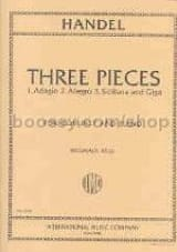 HAENDEL - 3 Pieces - transcr. clarinet - Sheet Music - di-arezzo.co.uk