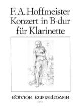 Franz Anton Hoffmeister - Konzert in B-Dur for Klarinette - Sheet Music - di-arezzo.com