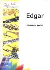 Fabrice Kastel - Edgar - Partition - di-arezzo.fr