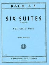 BACH - 6 Suites For Cello Only Fournier - Sheet Music - di-arezzo.co.uk