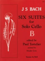 BACH - 6 Cello Suites Only Tortelier - Sheet Music - di-arezzo.com