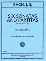 BACH - 6 Sonatas and Partitas - Viola - Sheet Music - di-arezzo.com