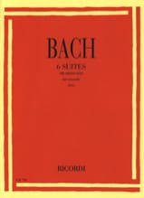 BACH - 6 Transcribed Suites for Violin Only - Sheet Music - di-arezzo.com
