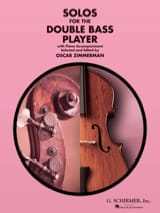 Solos for the Double bass player - Oscar Zimmerman - laflutedepan.com