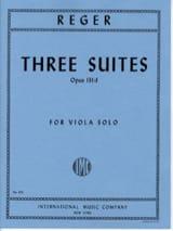 3 Suites op. 131d Max Reger Partition Alto - laflutedepan.com