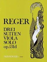 3 Suiten op. 131d Max Reger Partition Alto - laflutedepan.com