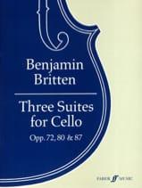 3 Suites Opus 72 - 80 & 87 Benjamin Britten Partition laflutedepan.com