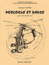 Prologue et danse - Adrienne Clostre - Partition - laflutedepan.com