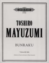 Bunraku Toshiro Mayuzumi Partition Violoncelle - laflutedepan.com